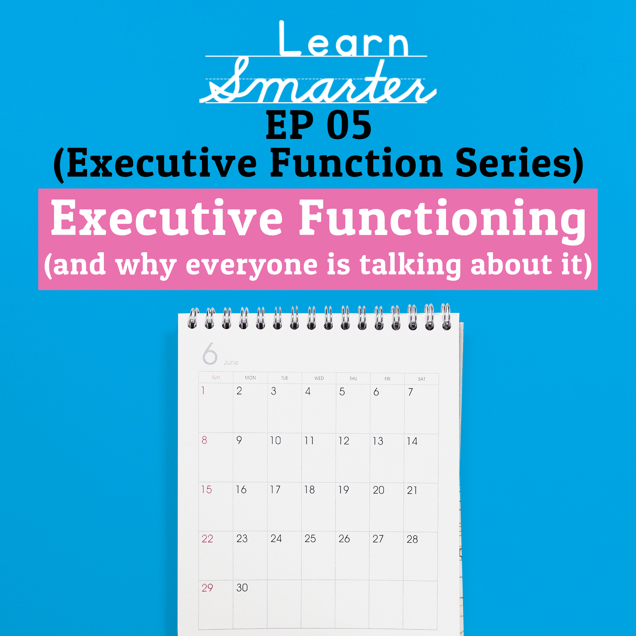 Ep 05: Executive Functioning (and why everyone is talking about it)