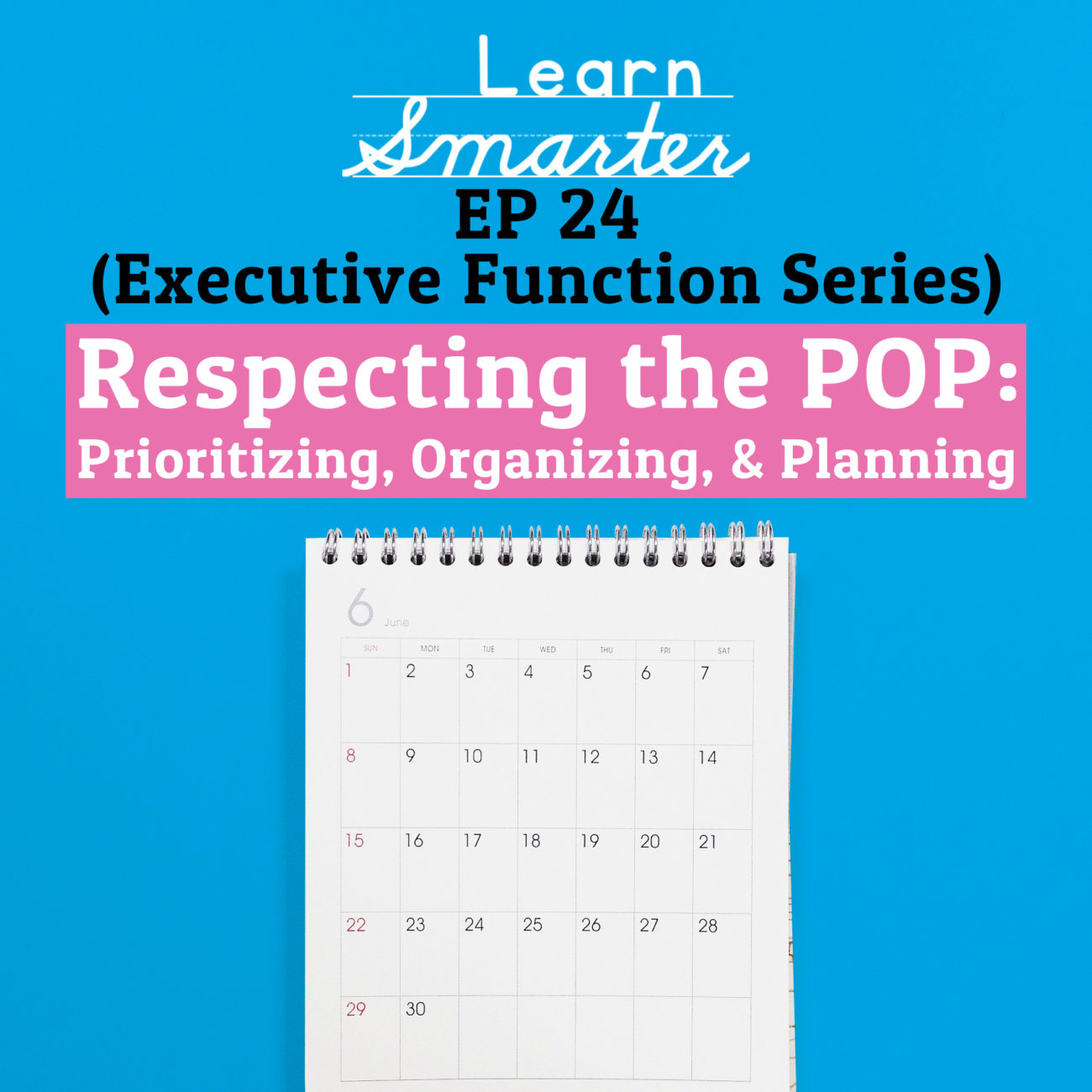 24: Respecting the POP: Prioritizing, Organizing, & Planning