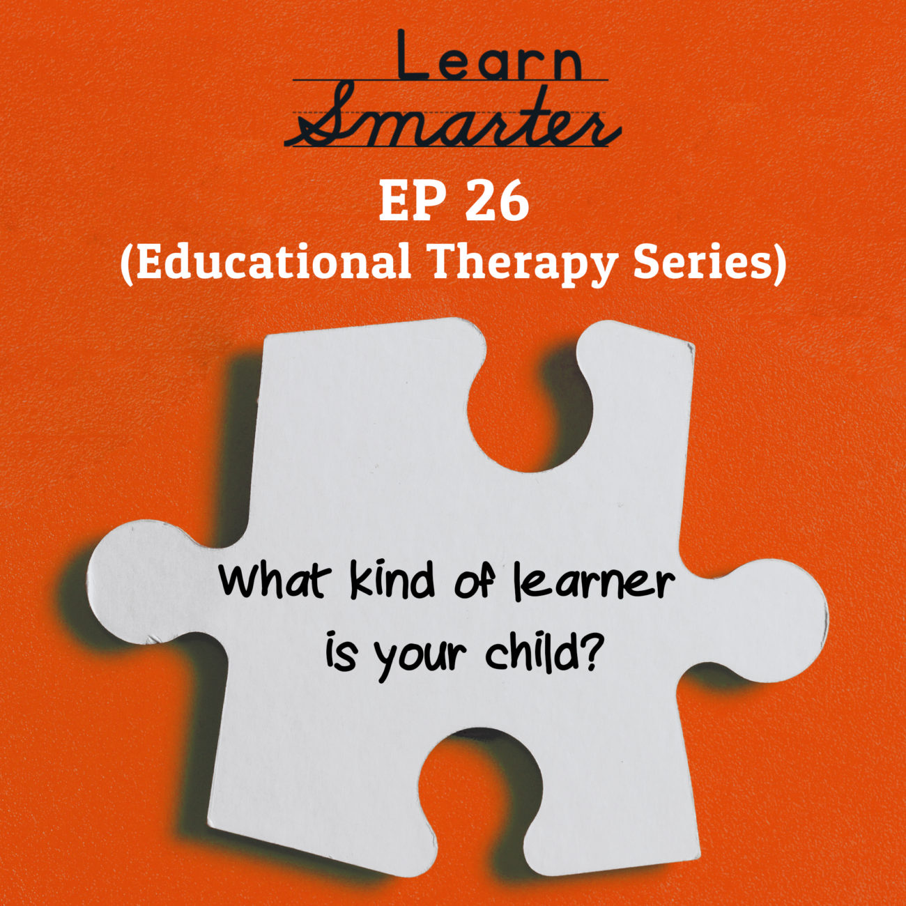 26: What kind of learner is your child?