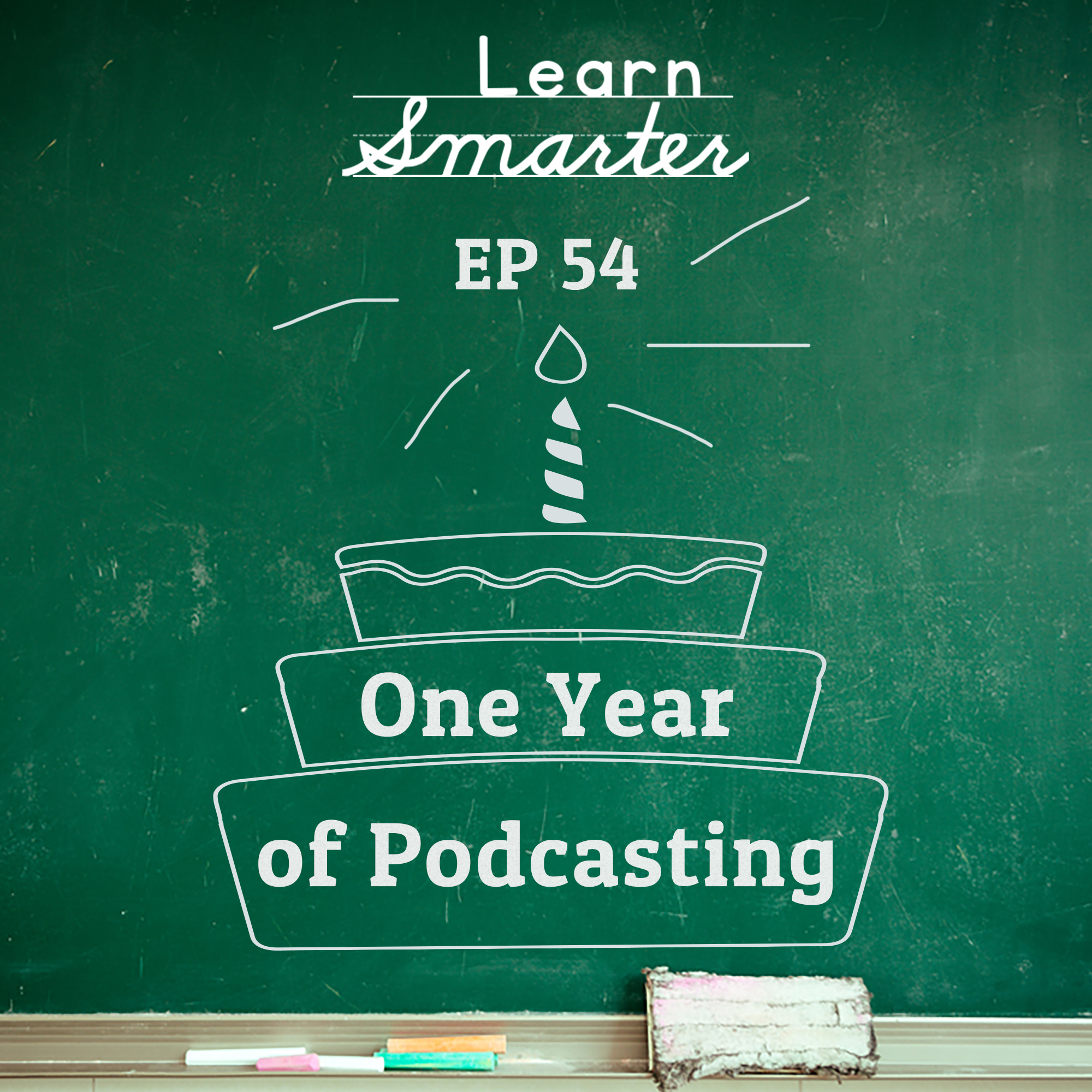 54: One Year of Podcasting