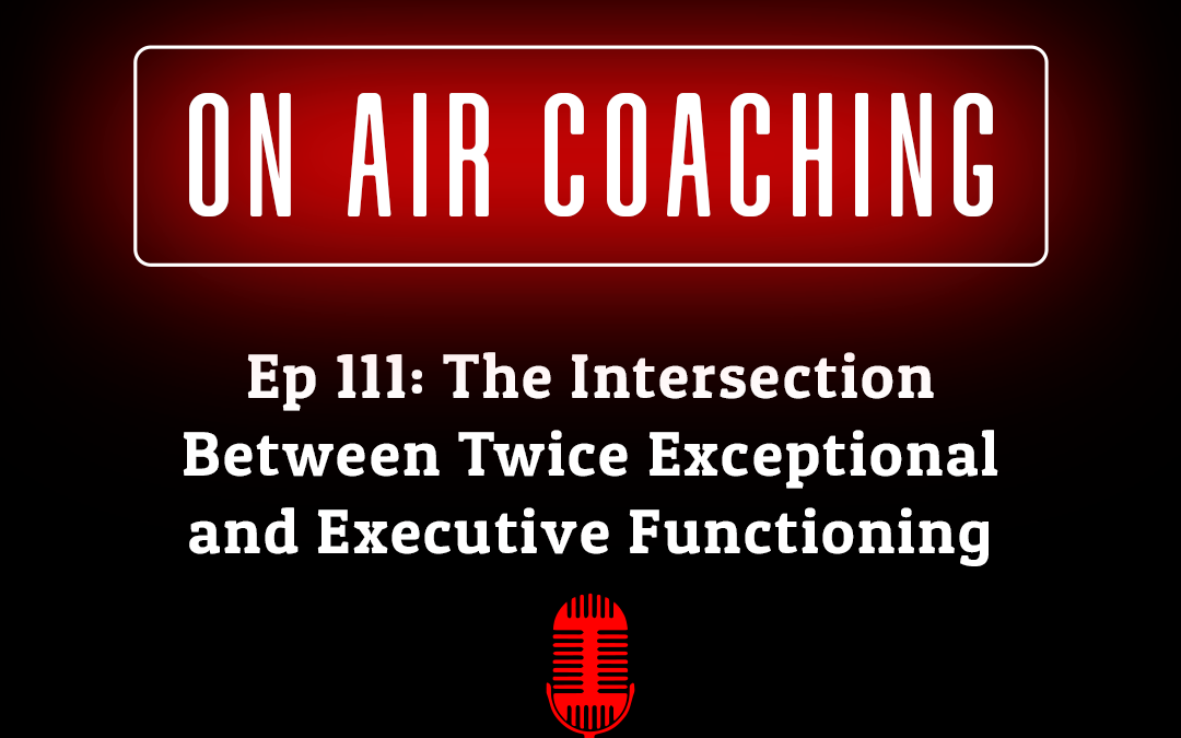 111: The Intersection between Twice Exceptional and Executive Functioning with Lolly Nelson (On Air-Coaching Call)