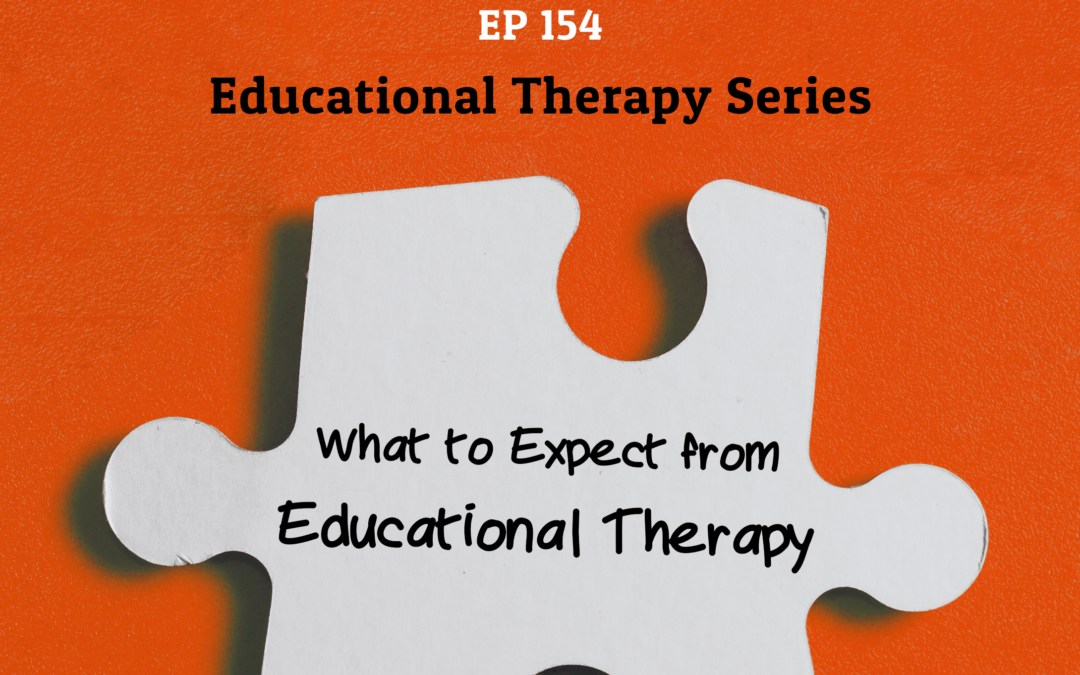 154: What to Expect from Educational Therapy (Educational Therapy Series)
