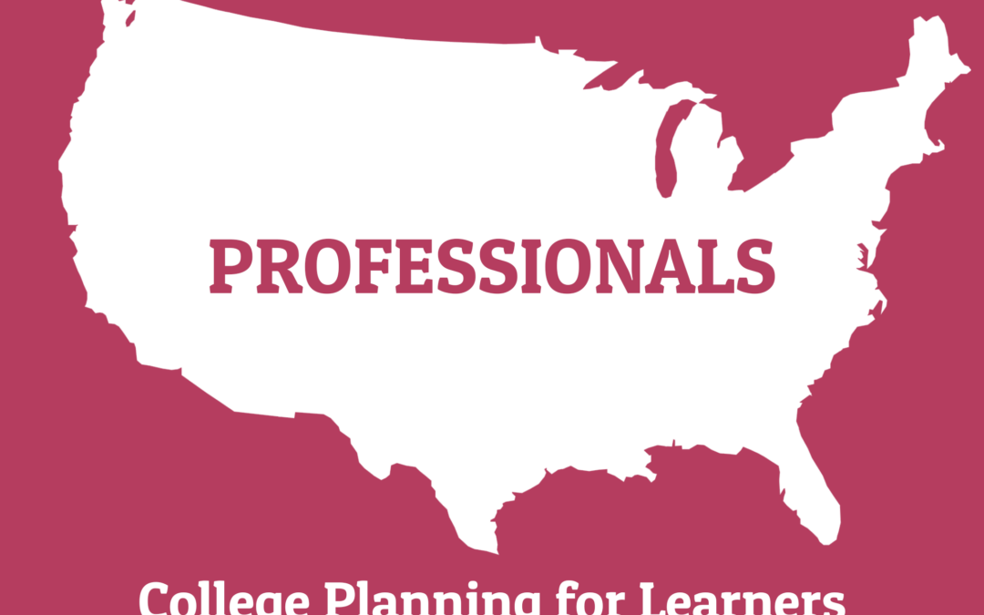 163: College Planning for Learners with Specialized Needs with Melanie Tasoff (Professionals Series)